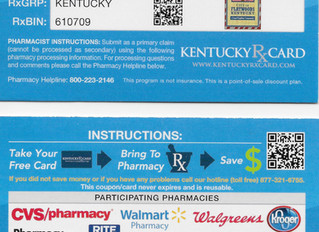 FREE Prescription Discount Card Available!