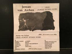 Spoken word album 1993