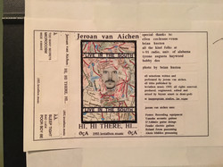 Live cassette from my South tour '93