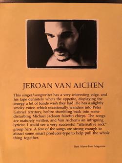 Peavey Music Mag blurb 1992