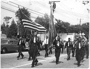 Irving Hart Post, American Legion (photo courtesy of Hub Edwards)