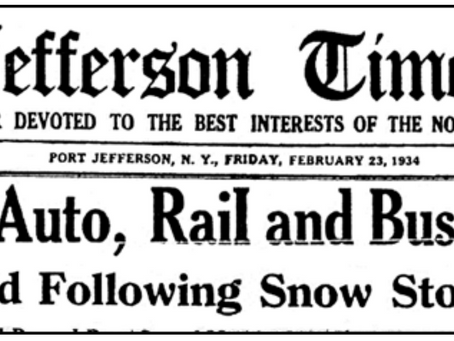 The Blizzard of 1934