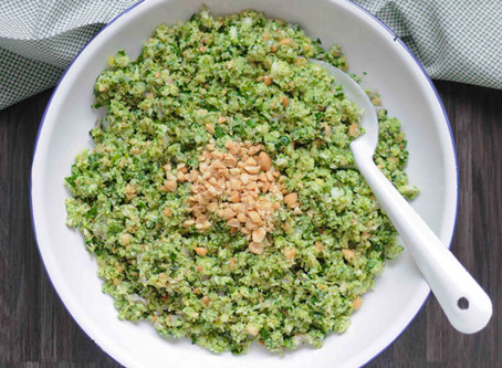 Taboulé de brocoli aux cacahuètes
