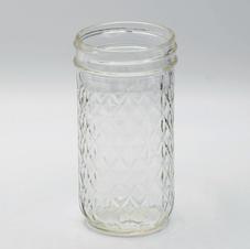 Glass Water Mason Jar