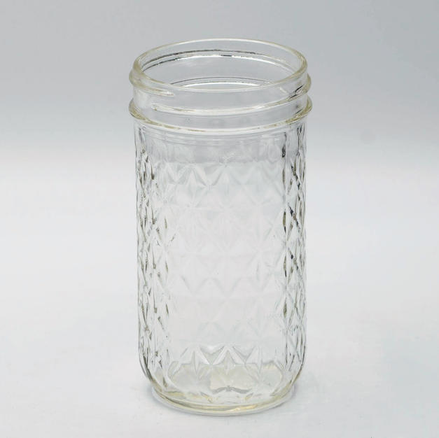 Glass Water Mason Jar