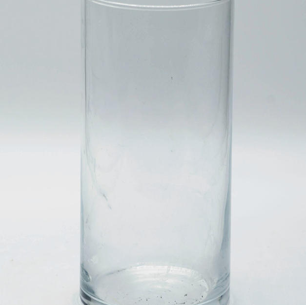 Glass Canterpiece Jar