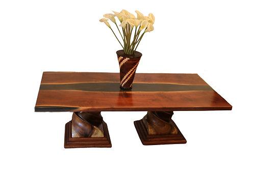 CUSTOM CLARO WALNUT TABLE PACKAGE