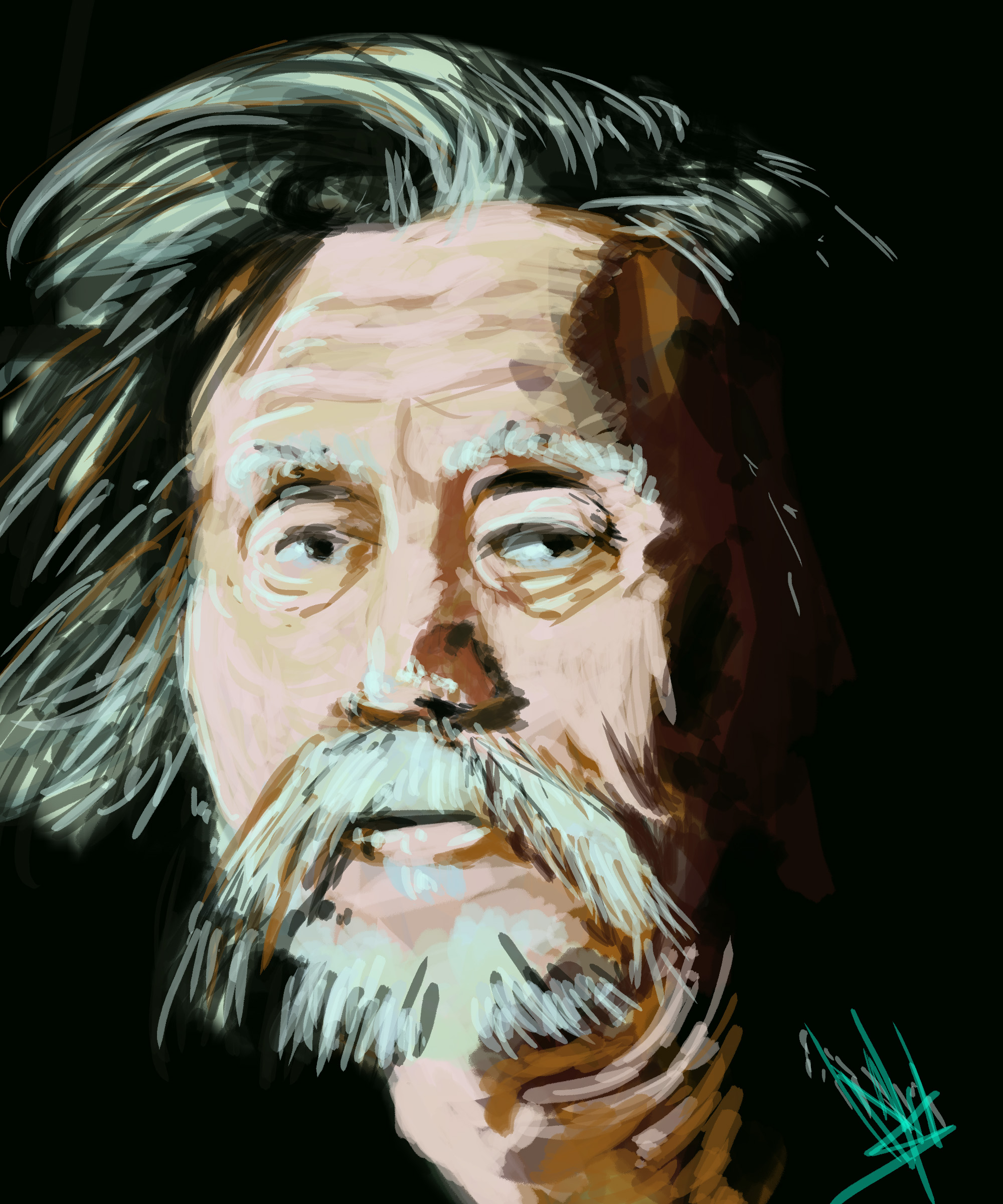 old_man_ Digital Paint