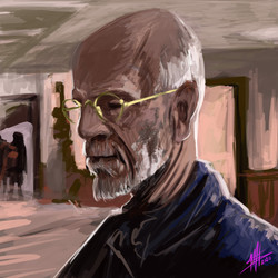 Malkovich. Digital Paint