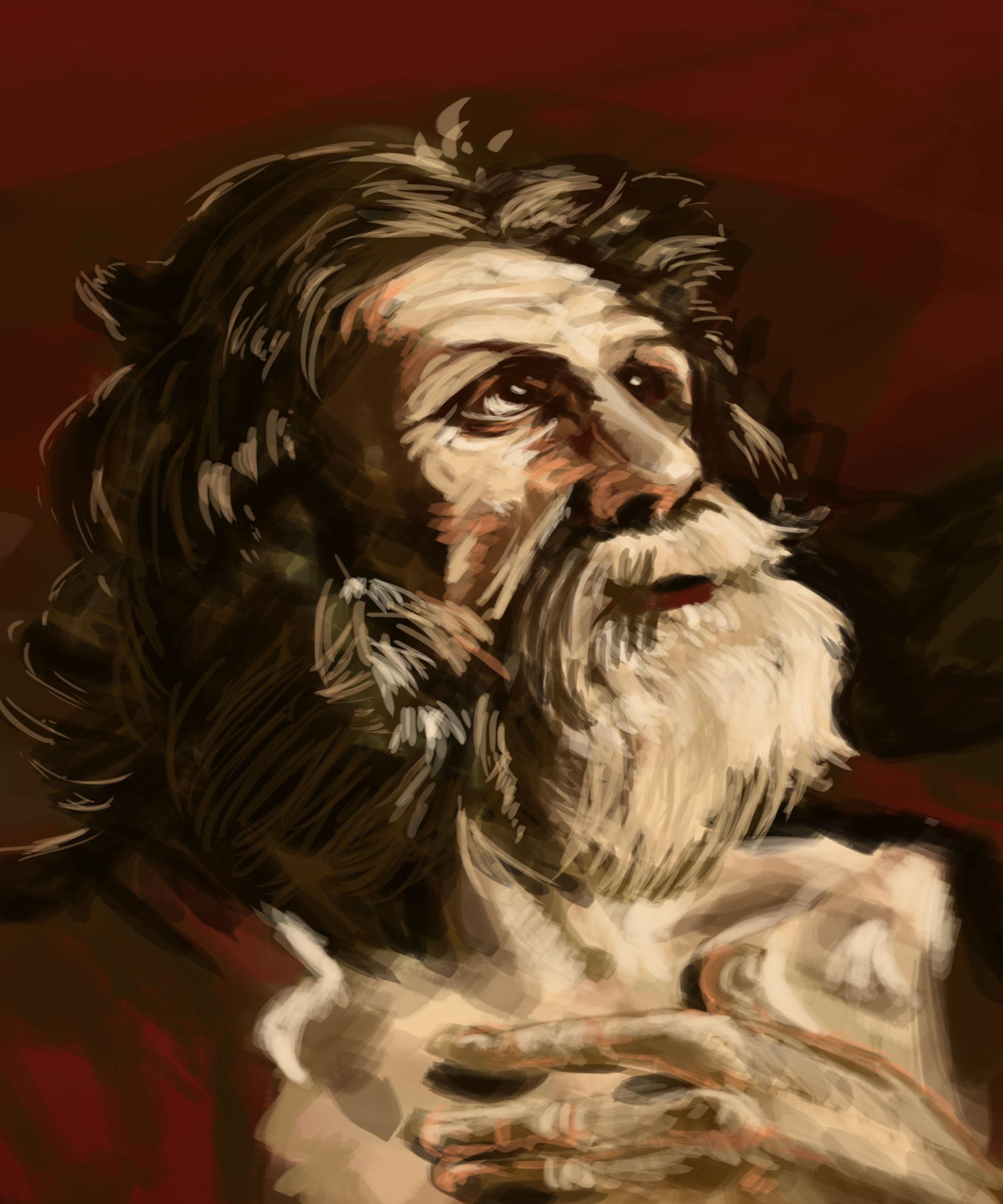 Barouqe Digital Paint