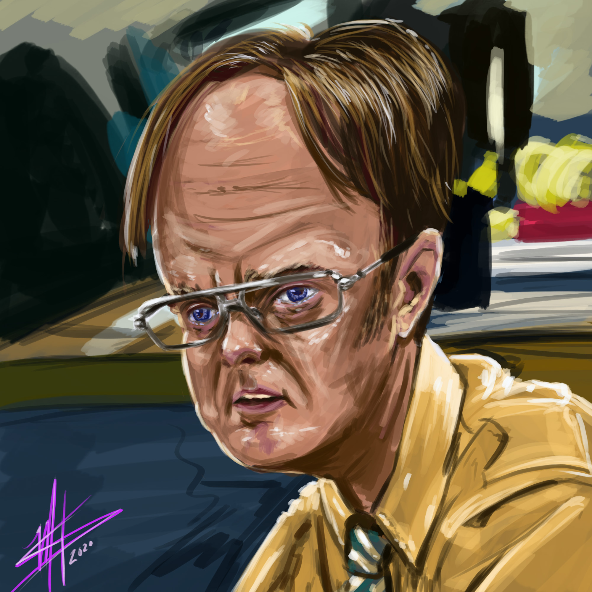 Dwight Digital Paint