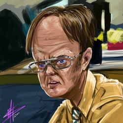 Dwight Digital Paint
