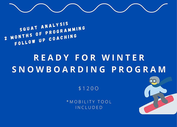 Ready For Winter Snowboarding Program | Training | United States