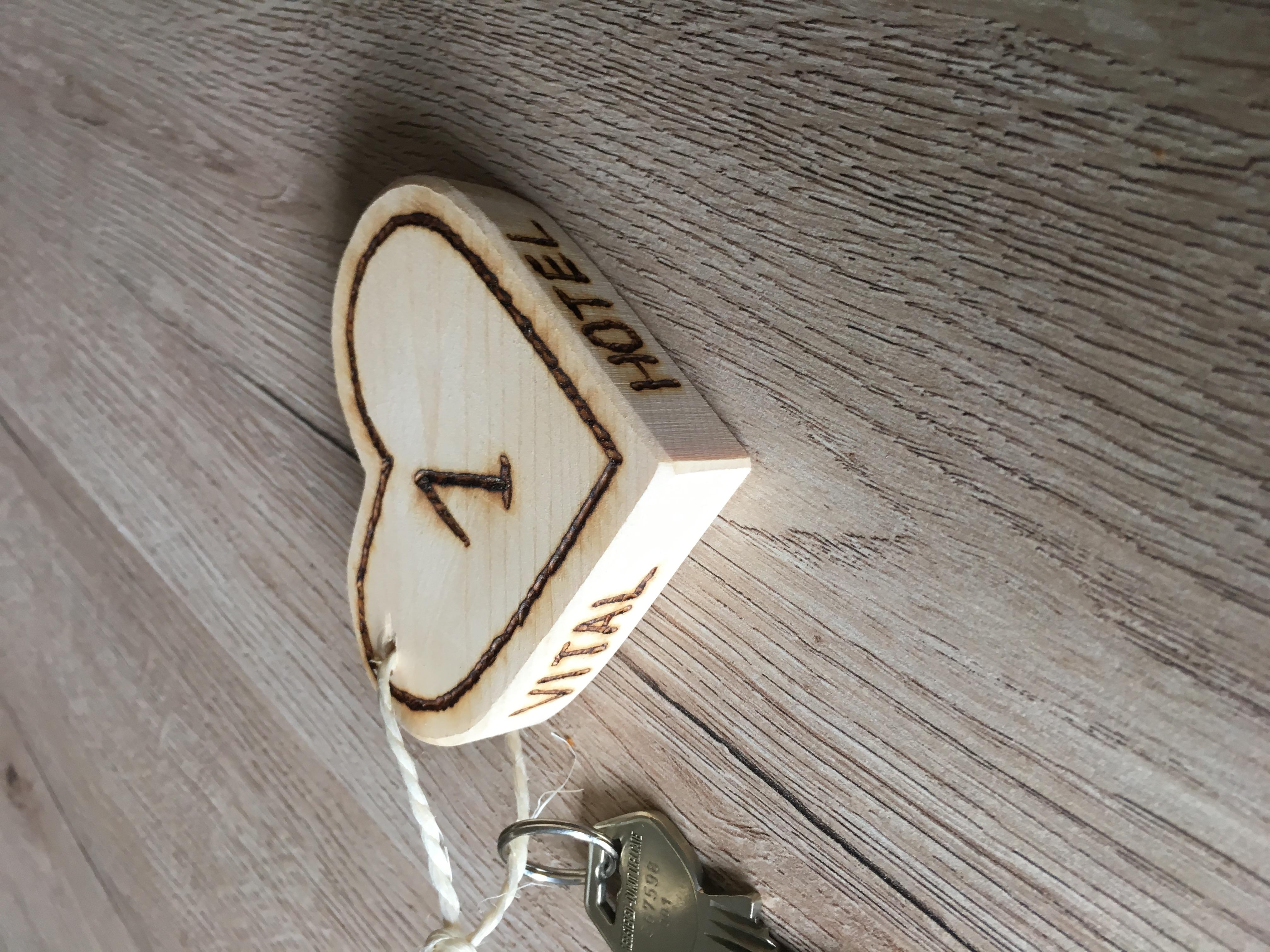 Schlüssel der Ferienwohnung