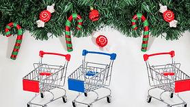 Weihnachtsdekoration-Einzelhandelskette.