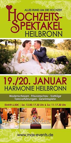 Hochzeitsmesse Heilbronn Harmonie Hochzeitsspektakel von Max Events