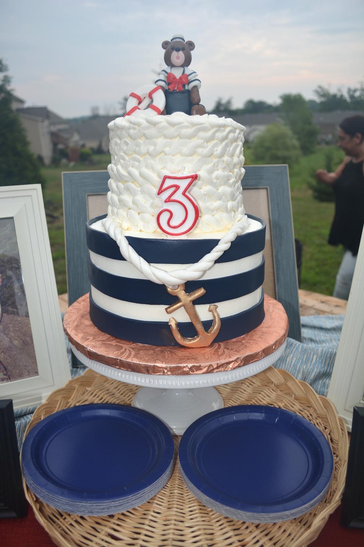 Nautical Themed Birthday