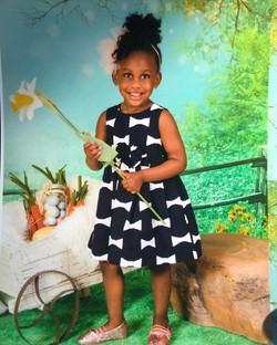 #MaciEden is looking like a big girl in her spring school pictures 😌#threenager #toddler #littlegir