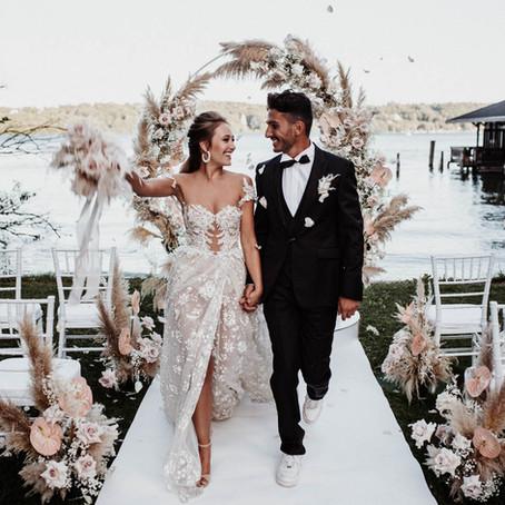 Modern Chic Wedding Shooting