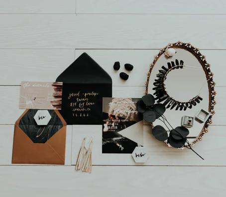 Das Hochzeitskonzept / Farb- und Dekokonzept