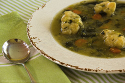 Veggie Soup with Dumplings