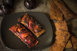 Roasted Plum Crostini
