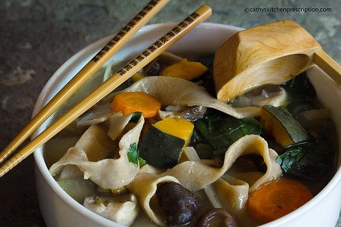Hōtō - Japanese noodle miso soup