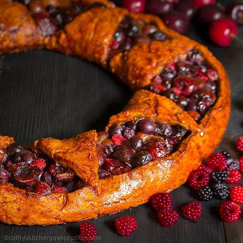 Very Berry Cherry Wreath