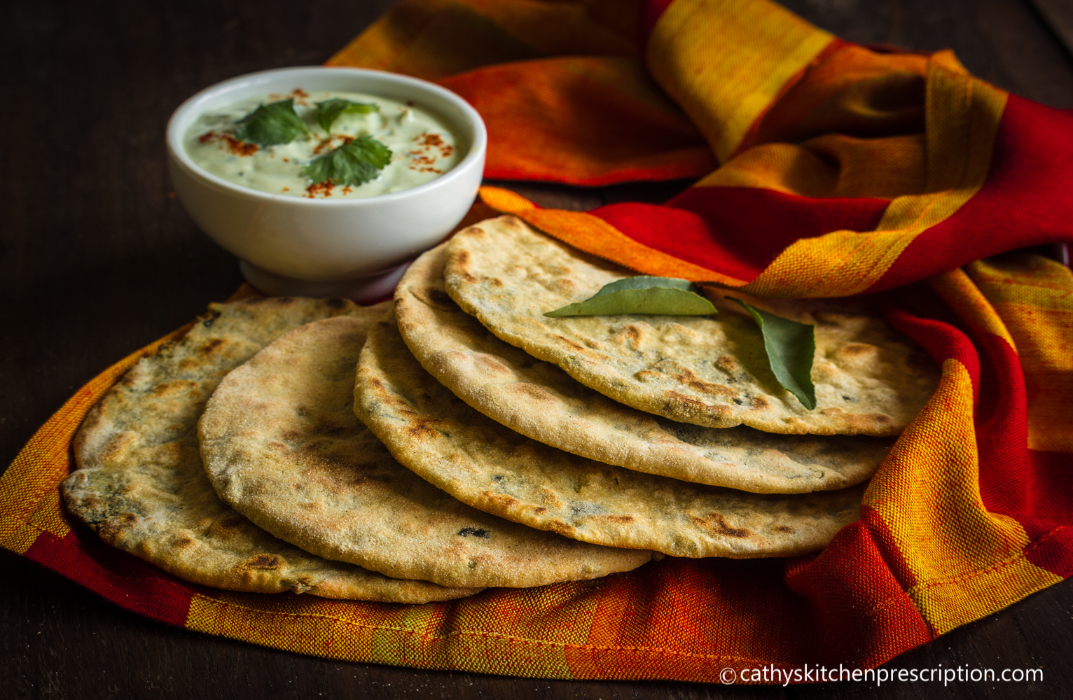 Plant-based stuffed paratha no fats