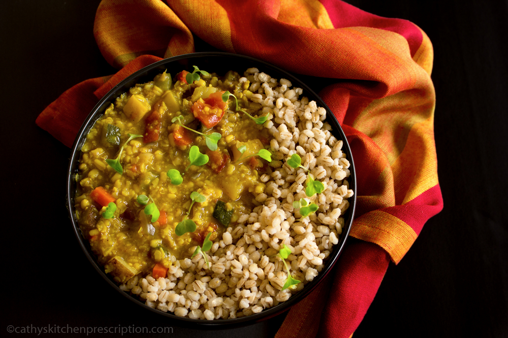 Urad Dal with Whole Barley