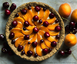 Apricot Cherry Crostata