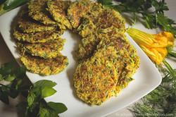Zucchini-Potato Fritters