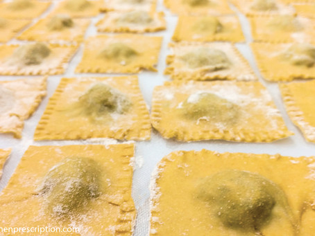 You Just Can't Beat Fresh Ravioli (especially if it's plant-based)