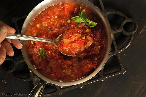 Rustic Tomato Sauce ~ Pomarola Rustica