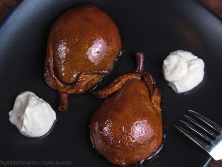 Poached Pears in Pastry ~A New Holiday Tradition