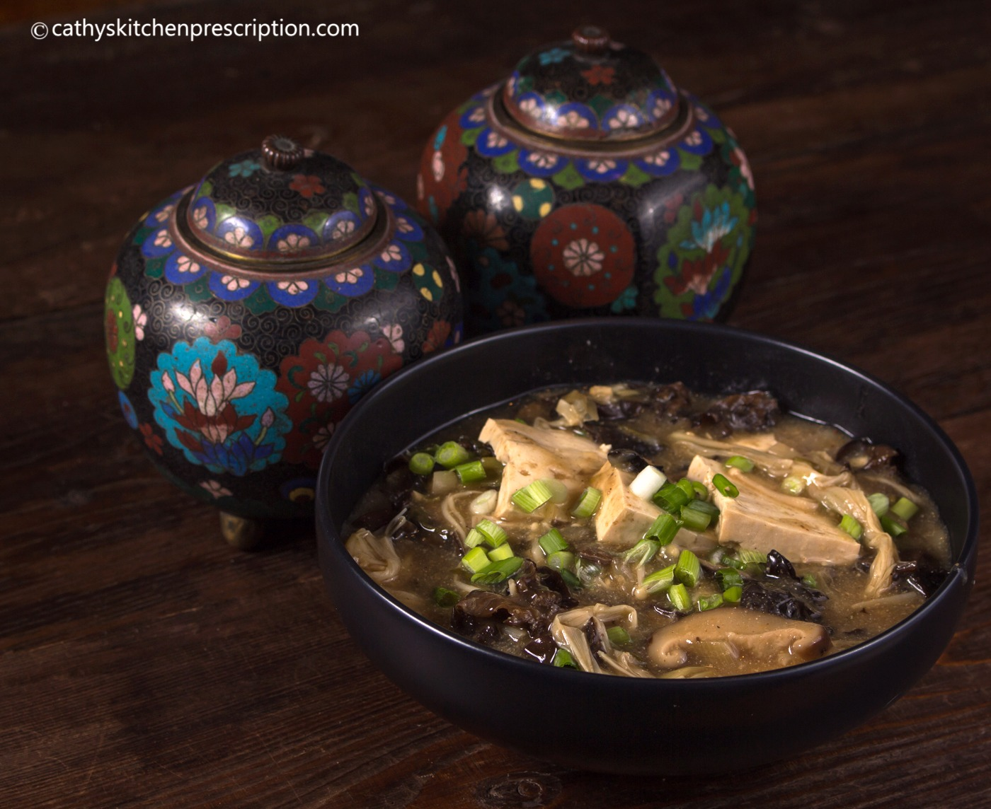 Vegan Chinese hot & sour soup