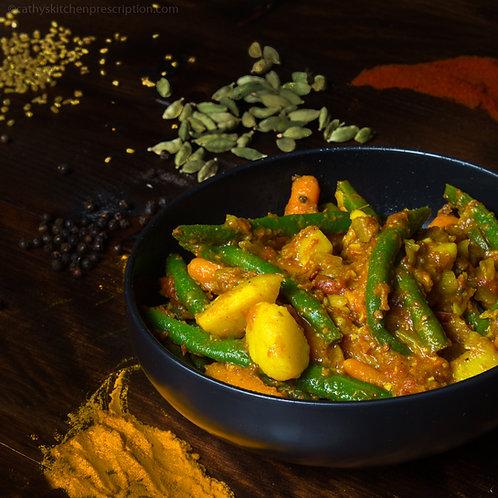 Ethiopian Vegetable Stew Yataklete Kilkil