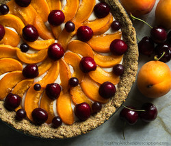 Apricot Cherry Crostata