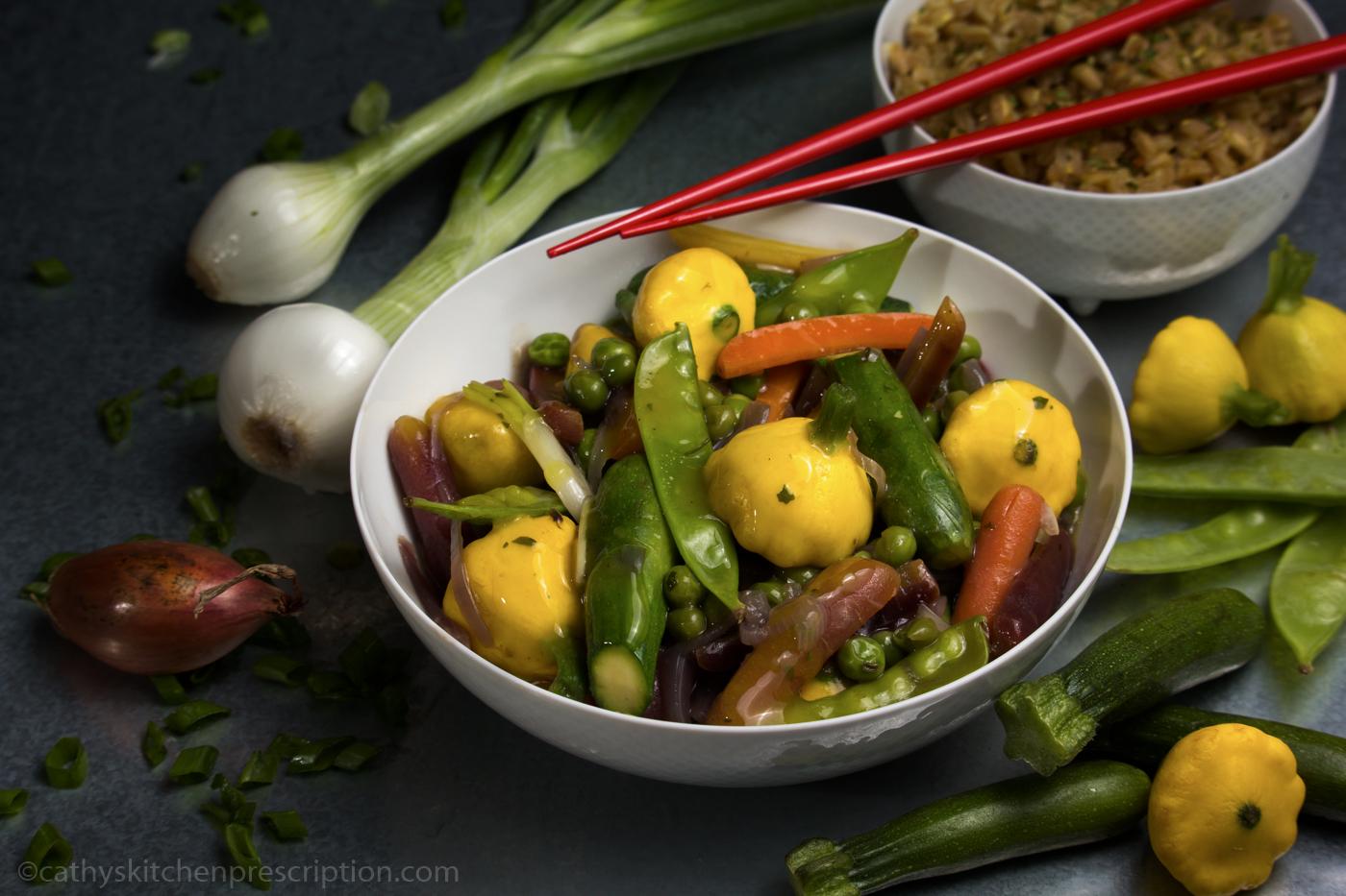 Sauté de Petits Légumes