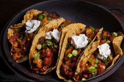 Mesquite Red Bean Tacos