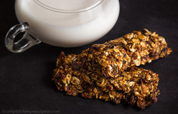 Fruity ALA granola bars