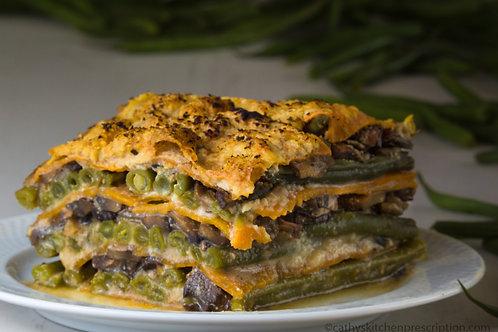 Haricot Vert - Cremini Lasagna
