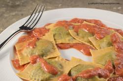 Plant-based fresh ravioli