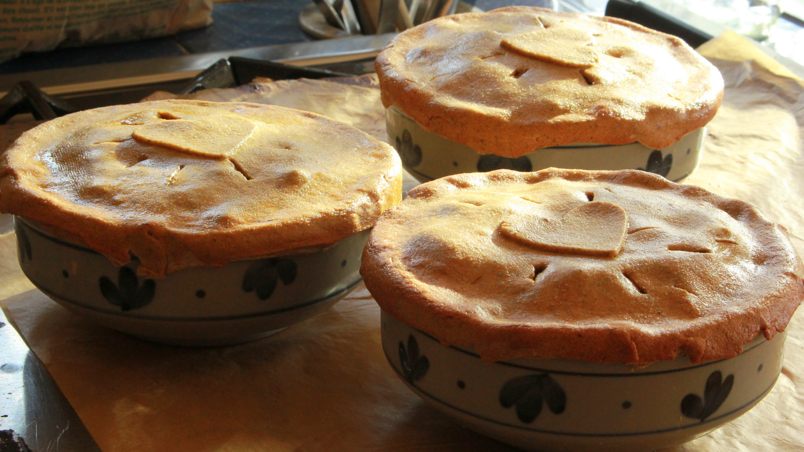 Mock Turkey Pot Pie