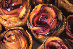 Plum Rose Cups