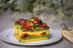 Torta di Polenta con Broccoli