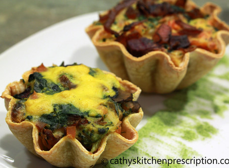 Tasty Morsels: Mini Veggie Quiches