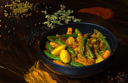 Ethiopian Vegetable Stew, Yataklete Kilkil