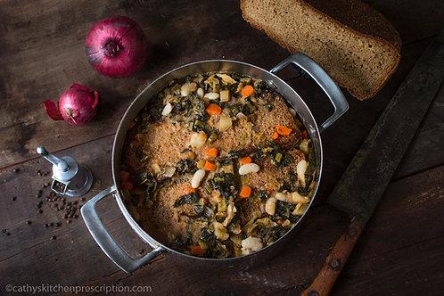 Zuppa di Fagioli e la Ribollita