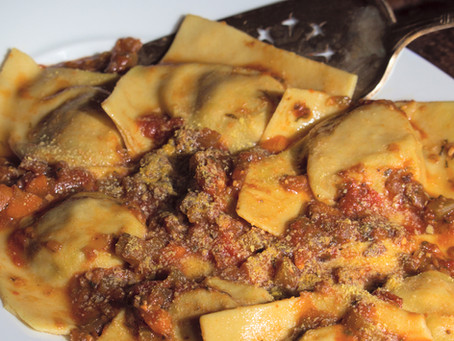 Bringing in the New Year with Tortelli di Patate